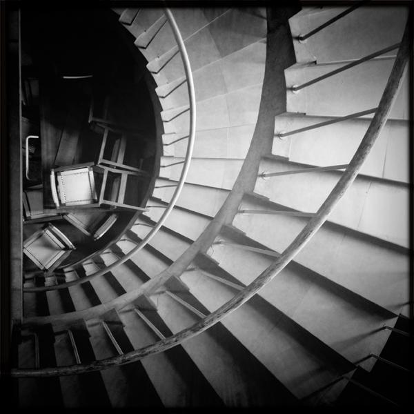 spiral staircase @ IIM