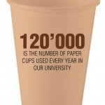 4 :: number of cups used every year @ HCU